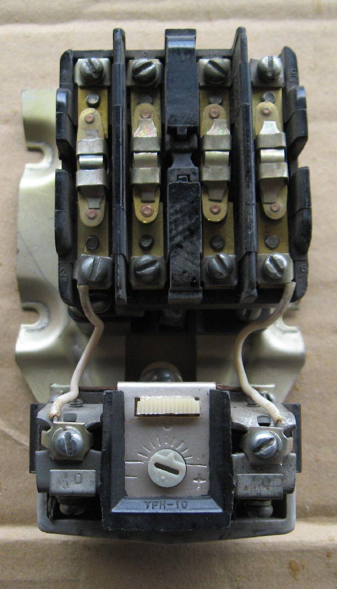 схема вкл эл двигателя