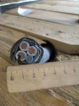 Бронированный медный кабель ВБбШв 3х25+1х16 для стационарной прокладки в земле