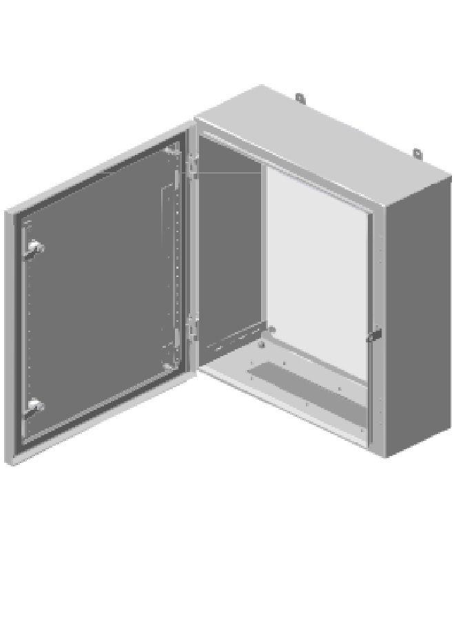 На фото: монтажные шкафы для обустройства серверных комнат fortstroi
