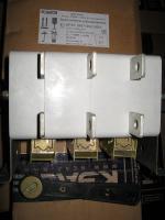 Рубильник реверсивный ВР32-37 В71250 на два направления с дугогасительными камерами производства Курского электроаппаратного завода