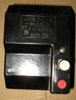 Фото трёхполюсного автоматического выключателя АП50Б 3МТ на номинальный ток 63А выпуска УПП УТОС