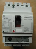 Трёхполюсный силовой выключатель Record Plus FD160 Effective на 125А производства американской корпорации General Electric
