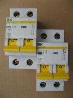 Фото модульных автоматов ВА 47-29 на 16А и 25А произвдства IEK