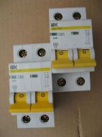 Модульные выключатели автоматические ВА 47-29 2P на 50А и 63А IEK