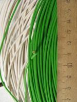 Фотография бухты провода марки ПВ3 сечения 1 квадратный мм для стационарной прокладки с изгибами