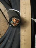 Фото сечения гибкого кабеля КГ 3х16+1х6