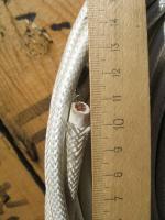 Фотография бухты термостойкого кабеля или провода РКГМ 10 Рыбинского кабельного завода