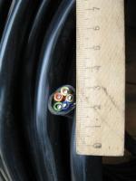 Фото забухтованного кабеля ВВГнг 5х6