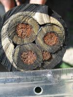 Фотография кабеля КГЭ 3х50+1х16 для землеройных машин