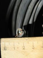 Фото пятижильного контрольного кабеля КВВГ 5х1 для стационарной одиночной прокладки