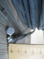 Фото трёхжильного алюминиевого кабеля АВВГ 3х6 в поливинилхлоридной изоляции и оболочке