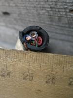 Фото четырёхжильного кабеля ВВГ 4х4