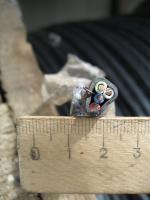 Фотография сечения силового провода ВВГнг-LS 4х2.5