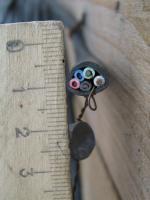 Фото пятижильного кабеля ВВГнг-LS 5х1.5 пониженной пожароопасности