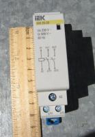 Фото контактора модульного КМ 20-20 компании IEK