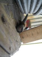 Фотография сечения экранированного негорючего кабеля КВВГЭнг 7х1.5 для цепей управления, сигнализации, релейной защиты