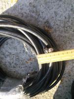 Фотография силового кабеля АВБбШв 2х4 (две жилы в ПВХ изоляции, бронированные лентами, в шланговой оболочке)