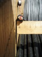 Фотография сечения кабеля телефонной связи ТППэп 20х2х0.4 для стационарной прокладки в воздухе и в кабельной канализации