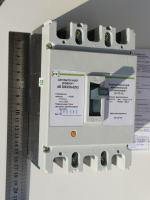 Фото трёхполюсного выключателя АВ3003 на номинальный ток 125А украинского производства (Кривой Рог, ПромФактор)