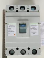 Фотография силового трёхполюсного автомата АВ3005/3Н производства компании ПромФактор