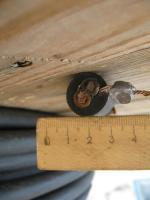Силовой двухжильный кабель КГ 2х16 в резиновой изоляции и оболочке