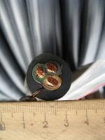 Срез силового трёхжильного гибкого кабеля КГ 3х16