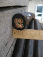 Силовой кабель КГ 4х25 с четырьмя жилами