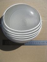 Фотография потолочного и настенного светильника НПП 1307 со степенью защиты от пыли и влаги IP54 под лампу мощностью 60 ватт