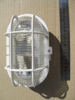 Фотография белого потолочно-настенного пластикового светильника НПП 2604 выпуска ИЭК