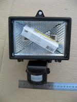 Фотография прожектора ИО-150Д с детектором движения со степенью защиты IP54 (защищён от влаги и пыли)