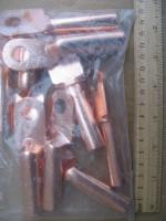 Фотография набора силовых наконечников DT-70 из электротехнической меди