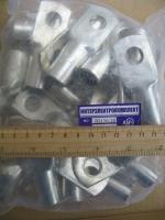 Фотография упаковки наконечников JG-150 для присоединения медных жил кабелей в уличных условиях