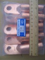 Фотография медного наконечника DT-240 под силовой кабель из того же материала
