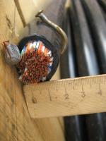 Фотография экранированного кабеля ТППэп 100х2х0,5 для телефонной связи