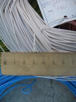 Фотография установочных проводов ПВ3 0,5 с одной медной жилой свитой из нескольких проволок