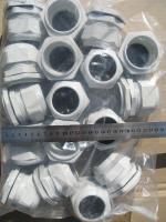 Сальники PG 48 из нейлона серого цвета под кабели и провода с диаметром 36-44 мм