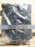 Фотография сальника MG 20 чёрного цвета со степенью защиты IP 68 выполненного из нейлона и неопрена