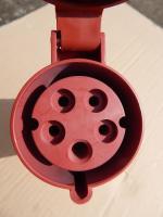 Фото переносной розетки на 32 ампера в цепь 380 вольт с гнёздами 3P+PE+N