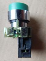 Нажимная выступающая кнопка LAY5-BL31 зелёного цвета выпуска компании ИЭК