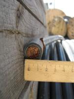Фотография провода ППСРВМ с сечением 120 миллиметров под сеть переменного тока с напряжением 660 вольт