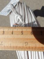 Термостойкий провод РКГМ 0,75 с многопроволочной жилой в кремнийорганической изоляции и оплётке из стекловолокна