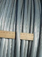 Фотография бухты неизолированного алюминиевого провода А-120 для линий с высоким напряжением