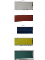 Фотографии термоусаживаемых трубок ТТУ 8/4 в нескольких цветах производства компании ИЭК