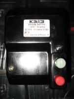 Фотография автоматического выключателя АП50Б 3МТ на 50А с уставкой электромагнитного расцепителя 3.5In или 175 ампер