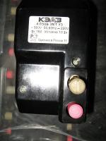 Фото выключателя АП50Б 2МТ на номинальный ток 16А с уставкой 10 In для цепей постоянного тока