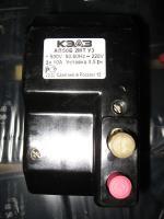 Фото двухполюсного автоматического выключателя АП50Б 2МТ на ток 10А с уставкой электромагнитного расцепителя 3,5 In