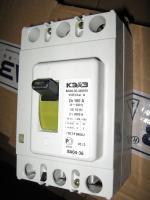 Характеристики на лицевой панели выключателя автоматического ВА 04-36 340010 на токи 160А изготовления Курского электроаппаратного завода