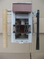Фото рубильника реверсивного (для переключения на два направления) ВР32-39 на 630А производства Кореневского завода НВА