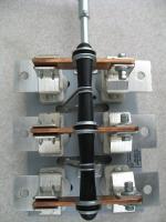 Фото разрывного разъединителя РБ-6 на тепловой ток 630 ампер