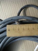 Фотография теплостойкого медного провода SIF-ST 1x16 для электрической проводки в саунах и банях